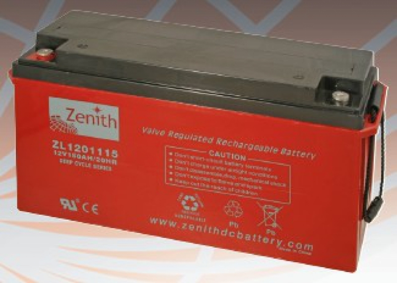 zenith agm deepcycle battery 160 ah technology for anglers. Black Bedroom Furniture Sets. Home Design Ideas