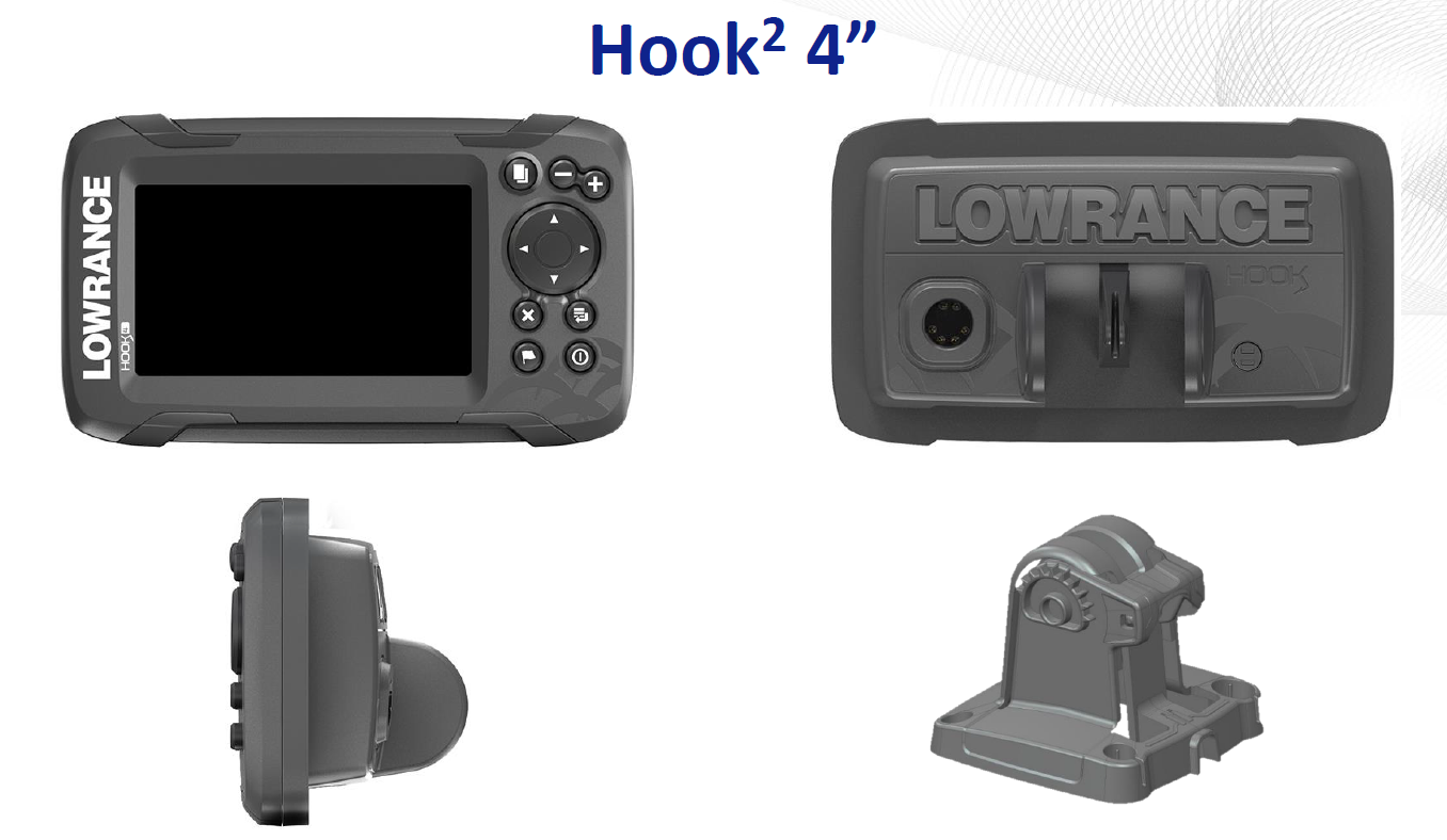 Lowrance Hook² 4x Bullet GPS - Technology for anglers