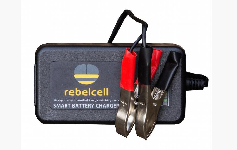 rebelcell ladeger t f r 12v18 li ion akku technik f r angler. Black Bedroom Furniture Sets. Home Design Ideas